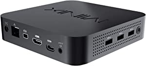 MINIX NEO J50C-4 Plus, 4GB DDR4/240GB Intel Pentium Silver Mini PC with Windows 10 Pro (64-bit) [Dual-Band Wi-Fi/Gigabit Ethernet/4K @ 60Hz/Triple Display/USB-C/Auto Power On/Vesa Mount]