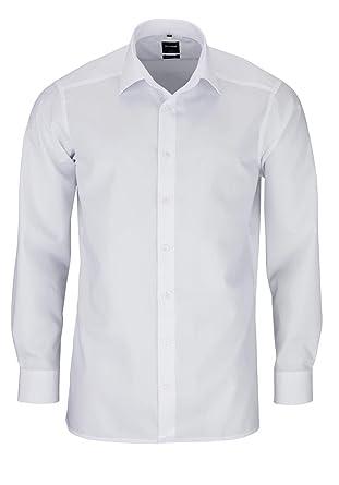 wholesale dealer 45c03 78678 Olymp Hemd slim line, bügelfrei weiss Italian Kentkragen in langarm (64cm)