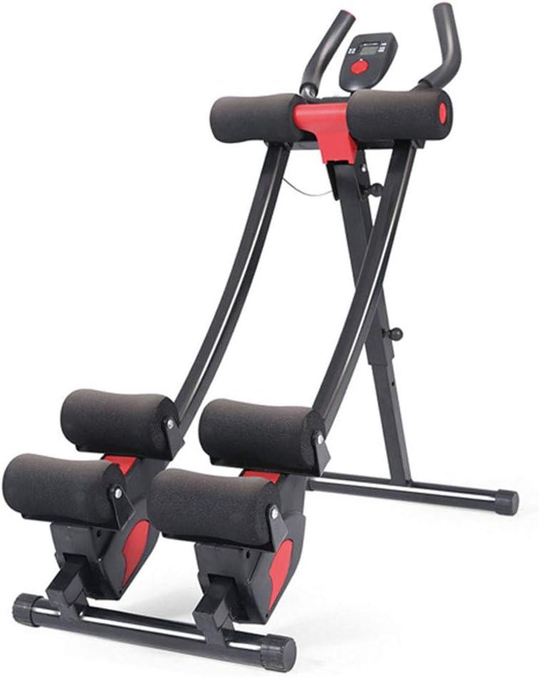 WCXSS- Abdominal Trainers Wonder Core AB Machine Star Uno AB Coaster - Doble Riel Curvo - Pantalla Led De Pantalla