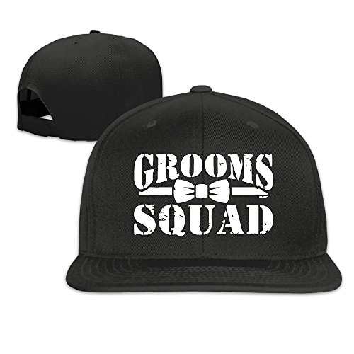 Grooms Squad Bachelor Party Trendy Baseball Adult Cap