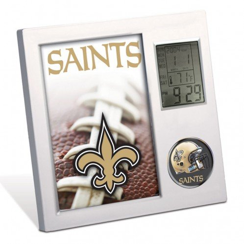 New Orleans Saints Desk Clock - 2