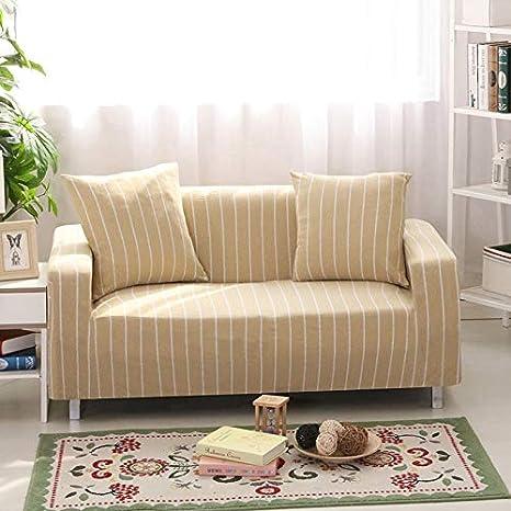 Sofá doble simple de 145-185 cm con cubierta completa ...