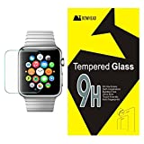 Apple Watch Screen Protector, Bowhead Apple Watch Glass Screen Protector (38MM Only)- [Tempered Glass] 9H Hardness, Bubble Free