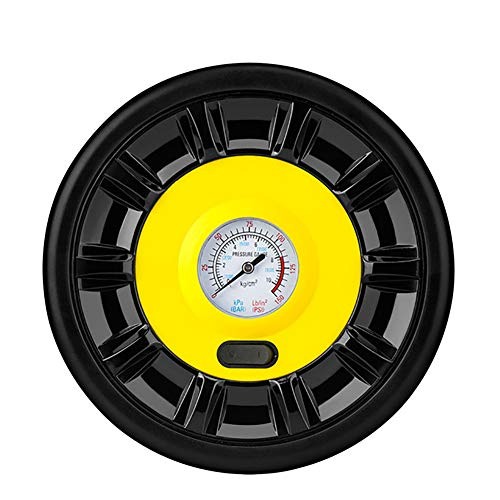 WUQIAN Digital Tire Pressure Gauge 150 PSI 4 Setting Tire Gauge For Car Truck Bicycle red