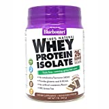 Bluebonnet Nutrition 100% Natural Whey Protein Isolate Powder, Chocolate Flavor, 1 Pound