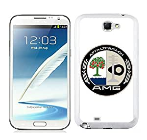 Easy Set,Fasionable Case amg affalterbach Samsung Galaxy Note 2 White Phone Case