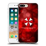 Official Resident Evil Umbrella Logo Soft Gel Case Compatible for iPhone 7 Plus/iPhone 8 Plus