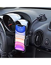 Mpow Car Phone Mount, Dashboard Windshield Car Phone Holder with Long Arm, Strong Sticky Gel Suction Cup, Anti-Shake Stabilizer Compatible iPhone 11/11 Pro/Xs Max/XS/XR/X/8/7, Galaxy, Moto and More
