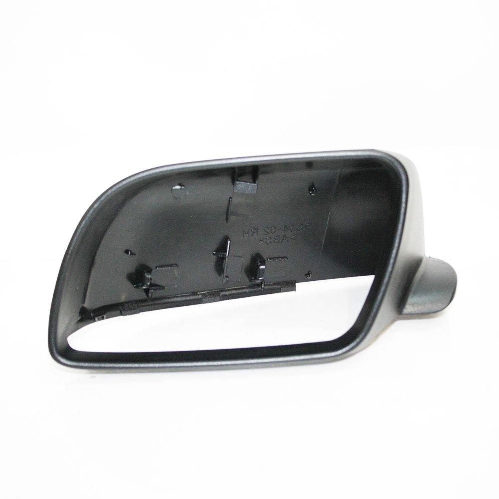 CarJoy 6910 Links Au/ßenspiegel Seitenspiegel Spiegelkappe Abdeckung f/ür Polo 2002-2005 OEM 6Q085753701C 6Q0857537 6Q0857537AGRU
