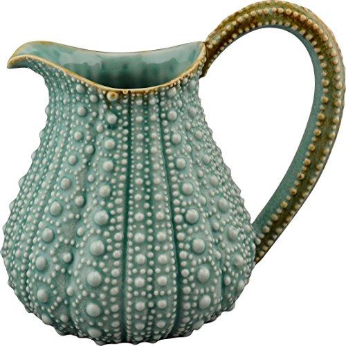 Blue Sky Ceramic Urchin Pitcher, 10