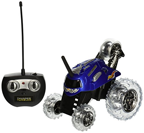 Thunder Tumbler Radio Control 360 Degree Rally Car (Blue) ()