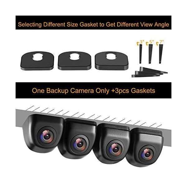 Backup//Front View Camera IP69K Waterproof Great Night Vision HD and Super Wide A