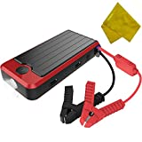 PowerAll Compact Emergency Car Jump Starter 12V 16000mAh Battery and Portable Power Bank (600A Peak Current For V4 V6 V8 Engine)