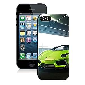 Verde Ithaca Lamborghini Aventador V Roadster Vorsteiner Black iPhone 5s Phone Case Genuine Custom Cover