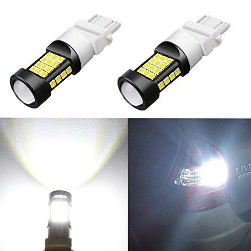 Alla Lighting 1000 Lumens 3030 36-SMD Extremely Super Bright 6000K Xenon White 3057 3056 T25 3157 3156 LED Bulb High Power LED Back-up Reverse Lights Bulbs Lamps (Chevrolet C1500 Backup)