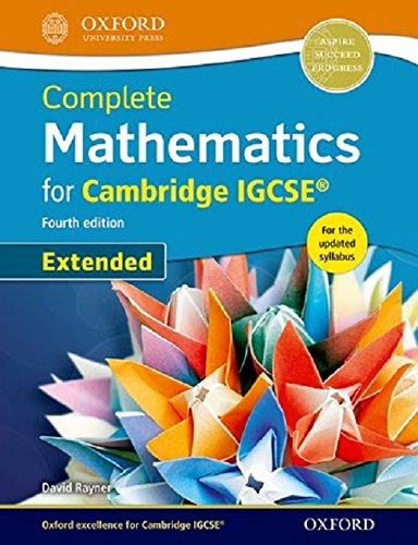 Complete Mathematics for  Cambridge IGCSE� Revision Guide (Core & Extended)