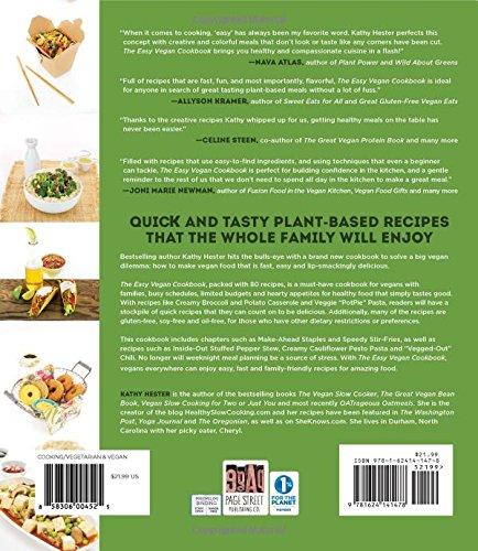 the easy vegan cookbook make healthy home cooking practically effortless