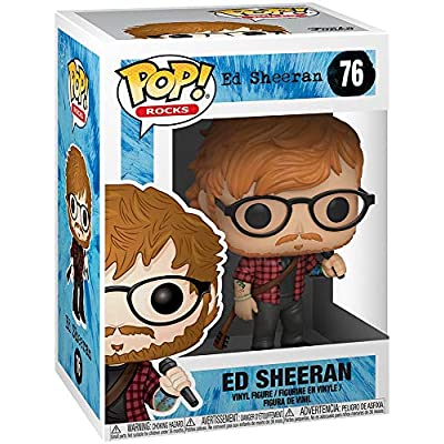 Funko POP! Rocks: Ed Sheeran: Funko Pop! Rocks:: Toys & Games