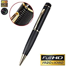 Hidden Camera Pen-HD 1080P Spy Pen Recorder Real Video Pen Camera Multifunction Writing Pen with Camera