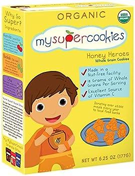 MySuperSnacks MySuperCookies Cookies - Honey Heroes - 6.25 oz