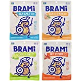 BRAMI Gluten Free, High Protein Vegan Lupini Beans Snack, Starter Pack, 4 Pouches