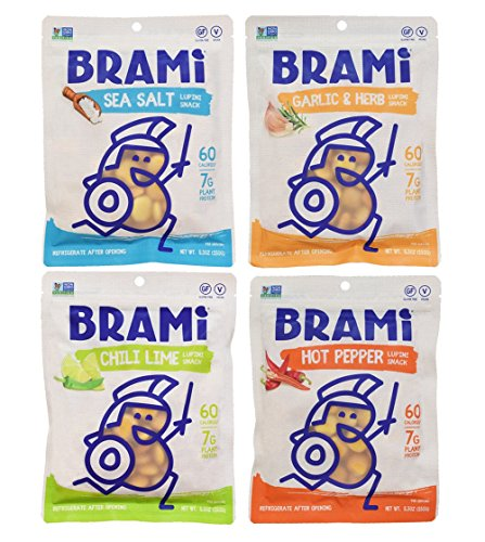 BRAMI-Gluten-Free-High-Protein-Vegan-Lupini-Beans-Snack-Starter-Pack-4-Pouches