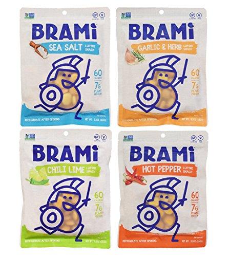 BRAMI-Gluten-Free-High-Protein-Vegan-Lupini-Beans-Snack-Starter-Pack-4-Pouches