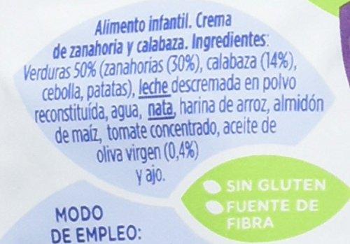 Hero Baby Bolsita Cocina Mediterránea Crema Calabaza Zanahoria - 18 Paquetes de 100 gr - Total: 1800 gr: Amazon.es: Alimentación y bebidas