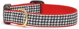 product image for Up Country–HTB C L Classic Black Houndstooth Dog Collar, Width 1, Size L