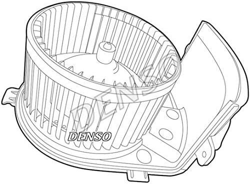 Denso DEA23005 Ventilador, condensador del aire acondicionado: Amazon.es: Coche y moto