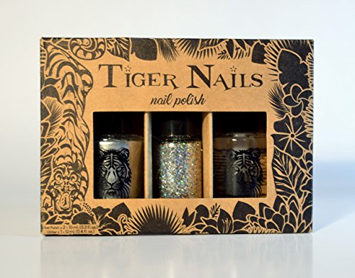 Tiger Nails - Disco Diamond Silver ()