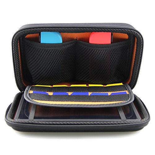 Hard Travel Carrying Case Protective Storage Bag With 10 Game Holder for (Hard Protective Carrying Case)