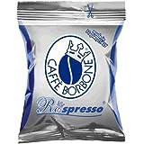 100 capsule Borbone Respresso miscela BLU compatibili Nespresso
