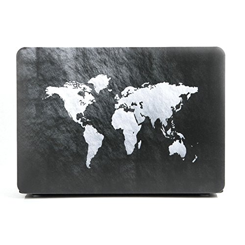 "MacBook Pro 13"" Case 2017 & 2016 Release A1706/A1708,SAYA Rubberized Hard Case Shell Cover for Apple MacBook Pro 13Inch With/No Touch Bar (Black White)"