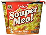 Nissin Souper Meal, Chicken, 4.3 Ounce (Pack of 6)