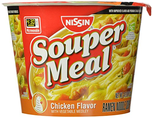 (Nissin Souper Meal, Chicken, 4.3 Ounce (Pack of 6))
