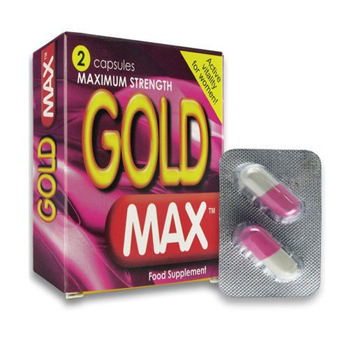 6 pilules FORCE MAXIMALE GoldMax Pink- HERBES LIBIDO SOINS pilules du sexe POUR LES FEMMES