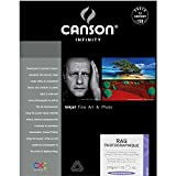 Canson Infinity Rag Photographique Paper (310 gsm, 13 x 19'', 25 Sheets)