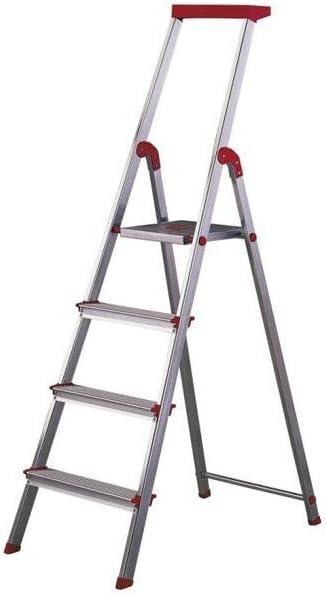 Escalera Rolser Aluminio Brico 4 Peldaños: Amazon.es: Hogar
