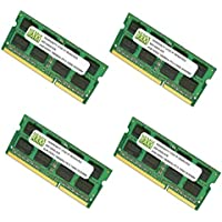 16GB (4 X 4GB) DDR3-1866MHz PC3-14900 SODIMM for Apple iMac 27 Late 2015 Intel Core i7 Quad-Core 4.0GHz MK482LL/A CTO (iMac17,1 Retina 5K Display)