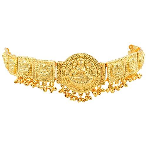 khushi-purchase-womens-gold-finish-lakshmi-round-shaped-belt-gold