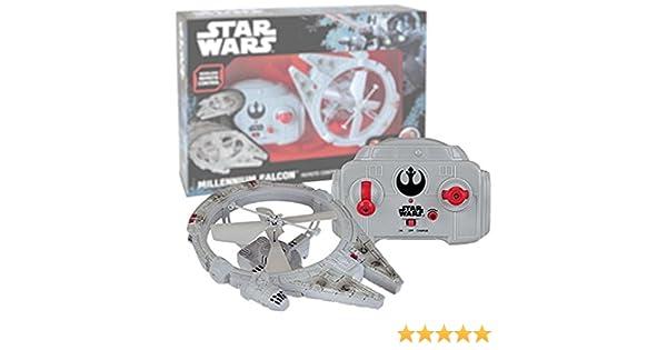 MTW Toys - Halcón Milenario Volador a Control Remoto, 21cm (THINKWAY 13412): Amazon.es: Juguetes y juegos