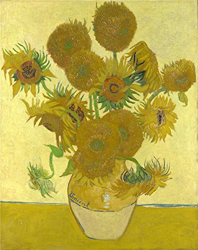 Van Gogh Couple Costume (The Polyster Canvas Of Oil Painting 'Vincent Van Gogh Sunflowers ' ,size: 8 X 10 Inch / 20 X 26 Cm ,this High Quality Art Decorative Canvas Prints Is Fit For Nursery Decor And Home Decoration And Gifts)
