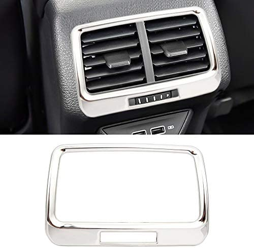 Senzeal V W Golf 7 Alltrack Plus Variant Air Conditioning Outlet Cover Trim Decor Stainless Steel Auto