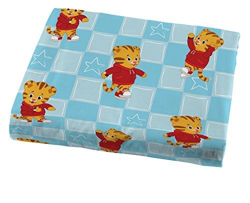 Jay Franco Daniel Tiger's Neighborhood 4 Piece Toddler Bed Set - Super Soft Microfiber Bed Set Includes Toddler Size Comforter & Sheet Set - (Official Daniel Tiger's Neighborhood Product) 5