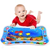 Inflatable Tummy Time Durable Water Mat Infants & Toddlers, Baby Water Play Mat for Fun, Great for Baby's Stimulation...