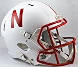 NCAA Nebraska Cornhuskers Full Size Speed Replica Helmet, Red, Medium