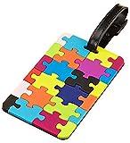 BleuMoo Novelty Secure Holiday Travel Suitcase ID Luggage Handbag Large Label Tag New Jigsaw Puzzle