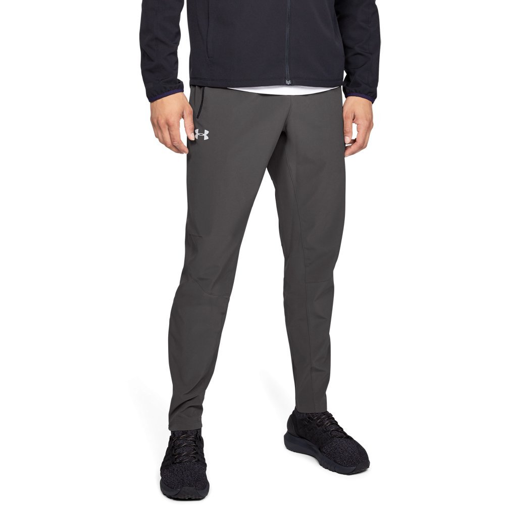 Under Armour Men's Outrun The Storm Pants, Charcoal (019)/Reflective, Medium by Under Armour (Image #1)
