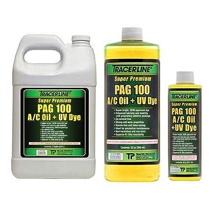 Amazon com: Tracerline 128 oz  container PAG 100 A/C oil